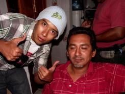 The bodies of photojournalists Guillermo Luna Varela, left, and Gabriel Huge were found on Thursday slain and dumped in plastic bags in a canal in Mexico.