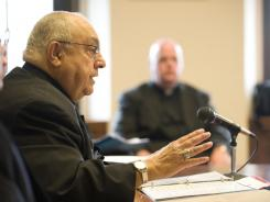 Bishop Joseph Galante says he found survey results both 'disturbing' and 'intriguing.'