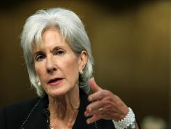 U.S. Secretary of Health and Human Services Kathleen Sebelius, a Catholic who oversees Obama's contraception insurance mandate, will address students at the Jesuit university.