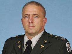 Capt. Bruce Kevin Clark, 43, died during a Skype chat with his wife.