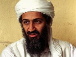 This 1998 file photo shows exiled al Qaeda leader Osama bin Laden in Afghanistan.