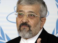 Iranian delegate Ali Asghar Soltanieh dismissed talk of alleged secret nuclear weapons.