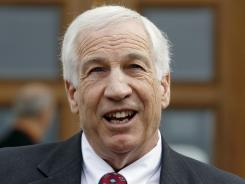 Jerry Sandusky, a former Penn State assistant football coach, is charged with sexually abusing boys.