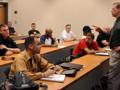 A class for veterans in Tampa, Fla., last year.