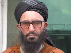 Arsala Rahmani, a member of the Afghan parliament and former Taliban leader.