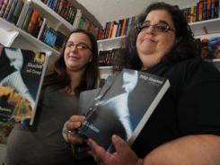 "Linda Tyndall, right, and her daughter, Rebecca are leading an online petition charge to get ""Fifty Shades of Grey"" returned to library shelves in Brevard County Florida."
