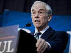 RON PAUL ENDS CAMPAIGN SPENDING ON REPUBLICAN PRESIDENTIAL BID