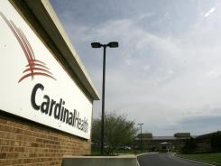 Outside Cardinal Health headquarters in Dublin, Ohio.