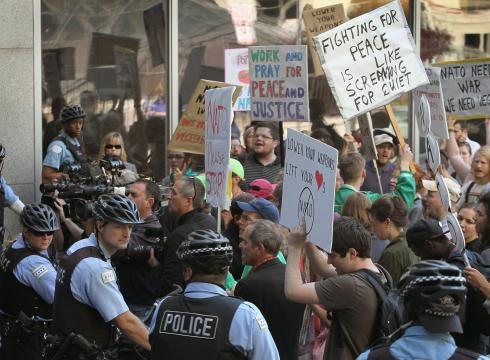 Activists gear up for NATO protests amid high security in Chicago ...