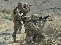 A new study finds Iraq and Afghanistan veterans exposed to explosions may be at a higher risk for early-onset dementia.