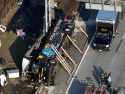 15 killed: World Wide Travel of Greater New York was put out of business after this bus crash last year.