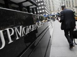 Sued: Shareholders of JPMorgan Chase have filed two lawsuits against the biggest U.S. bank.