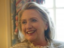 Secretary of State Hillary Rodham Clinton discussed her time at the State Department in an interview with USA TODAY.