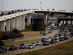 Austin broke into the USA's 10 worst metro areas for traffic congestion in 2011, moving up to number 8 from 14th in 2010.
