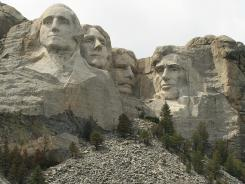 Mount Rushmore National Memorial in Keystone, S.D.