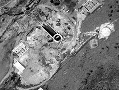 This April 29 image shows that North Korea is upgrading a rocket launch site, according to the U.S.-Korea Institute at Johns Hopkins School of Advanced International Studies.
