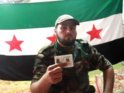 Abu Derda, a defected solder, joined the Free Syrian Army, a group that is trying to take on the army of President Bashar Assad.