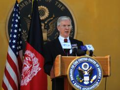 U.S. ambassador to Afghanistan Ryan Crocker is to leave his post this summer, the embassy in Kabul confirmed.