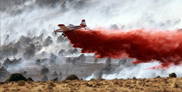 Nevada wildfire spreads, destroys 7 homes – USATODAY.