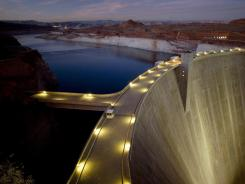Billions of gallons of water will flow through the bypass tubes at Glen Canyon Dam as part of an experimental flood.