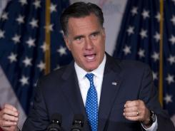 Mitt Romney is bucking the practice of other GOP candidates and not naming bundlers of large amounts of campaign money.