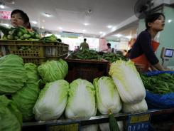 China is investigating claims vegetable sellers are spraying cabbage with harmful formaldehyde to keep it fresh, an official said on May 8, in yet another food-safety scare to hit the country.