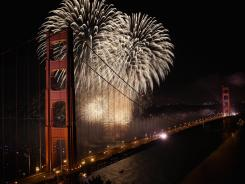 The Golden Gate Bridge celebrates its 75th anniversary. The 1.7 mile steel suspension bridge, one of the modern Wonders of the World, opened to traffic on May 27, 1937.