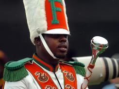 Robert Champion Jr., a member of FAMU's famed &quot;Marching 100&quot; band, collapsed and died Nov. 19 on a bus parked outside an Orlando hotel after a football game.