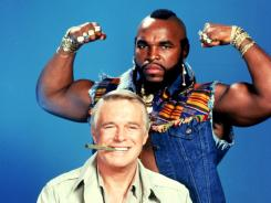 "George Peppard and Mr. T starred in the series ""The A Team."""