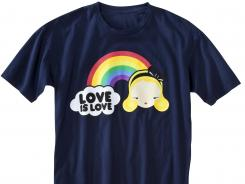 One of the T-shirts target is selling to raise money for a group working to defeat a gay marriage ban in Minnesota.