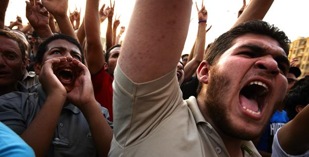 Egyptians gather at Tahrir Square in Cairo to call for a new revolution in Egypt on Saturday.