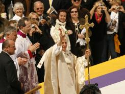 Pope Benedict XVI has plans to visit Philadelphia in 2015, his first U.S. visit since a trip through New York (pictured) and Washington in 2008.
