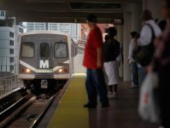 Mass transit systems around the nation have seen a spike in ridership.