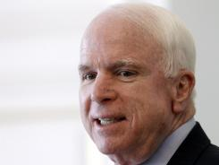 Sen. John McCain, R-Ariz., has been critical of Brett McGurk, President Obama's nominee to be the next ambassador to Iraq.