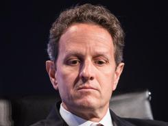 Treasury Secretary Timothy Geithner is urging countries to exert pressure through sanctions on the Syrian regime.