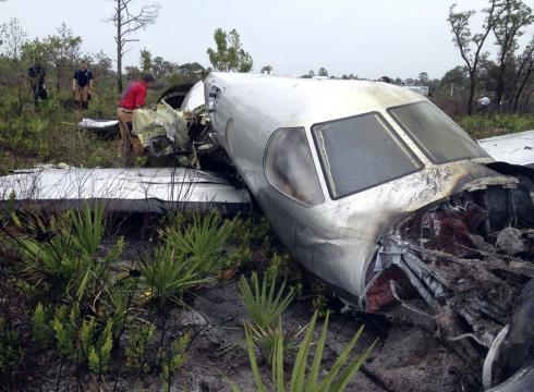 KANSAS FAMILY KILLED IN PLANE CRASH IN FLA. SWAMP – USATODAY.