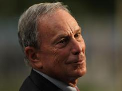 Bloomberg: Mayor of New York.