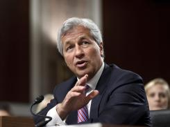 Dimon: Testifying on Capitol Hill on Wednesday.