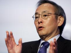 "Energy Secretary Steven Chu says the deal with USEC Inc. is meant to ""strengthen U.S. national security."""