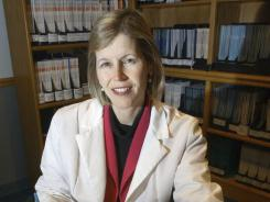 Dr. JoAnn Manson in 2002. Manson says women employees are less likely than men to ask her for pay raises.