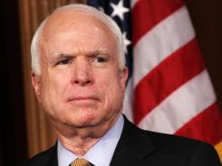 McCain: Republican senator of Arizona wants an investigation into the national security leaks.