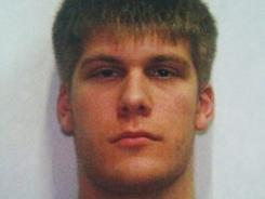 Travis Brandon Baumgartner, 21, was stopped near a border crossing in Lynden, Washington.
