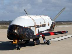 The X-37B spacecraft steered itself to a landing early Saturday.