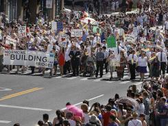 Mormons Building Bridges: Leading the Gay Pride Parade in Salt Lake City on June 3.