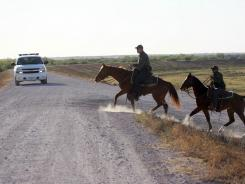 Border patrol in Texas.