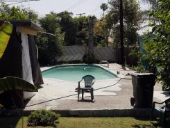 Rodney King was found Sunday in his pool at his home in Rialto, Calif.