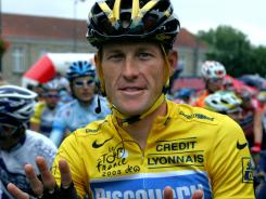 Lance Armstrong is again being accused of using steroids.