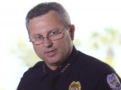 Sanford Police Chief Bill Lee stepped down temporarily in March.