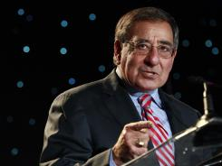 Secretary of Defense Leon Panetta speaks Friday about suicide prevention at the annual Suicide Prevention Conference held by the Deptartment of Defense and Veterans Administration.