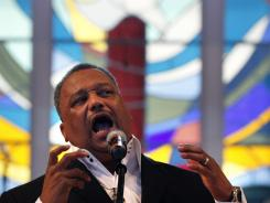 The Southern Baptist Convention elected the Rev. Fred Luter as its first black president.